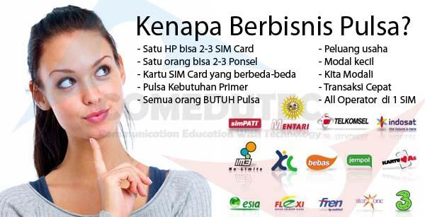 Bisnis Pulsa Online Menjanjikan Di Sleman